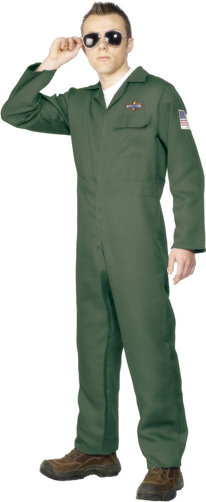 Army Aviator costume adult. Smiffys 28623