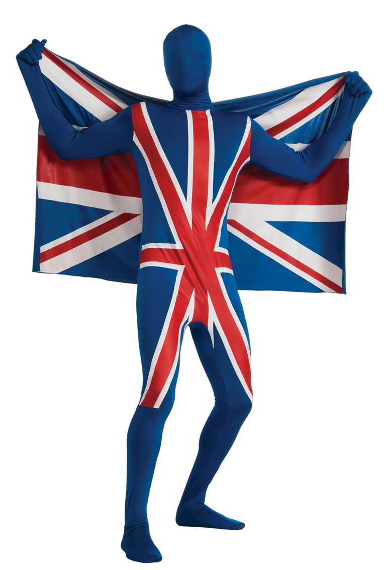 Union Jack 2nd Skin suit 880517