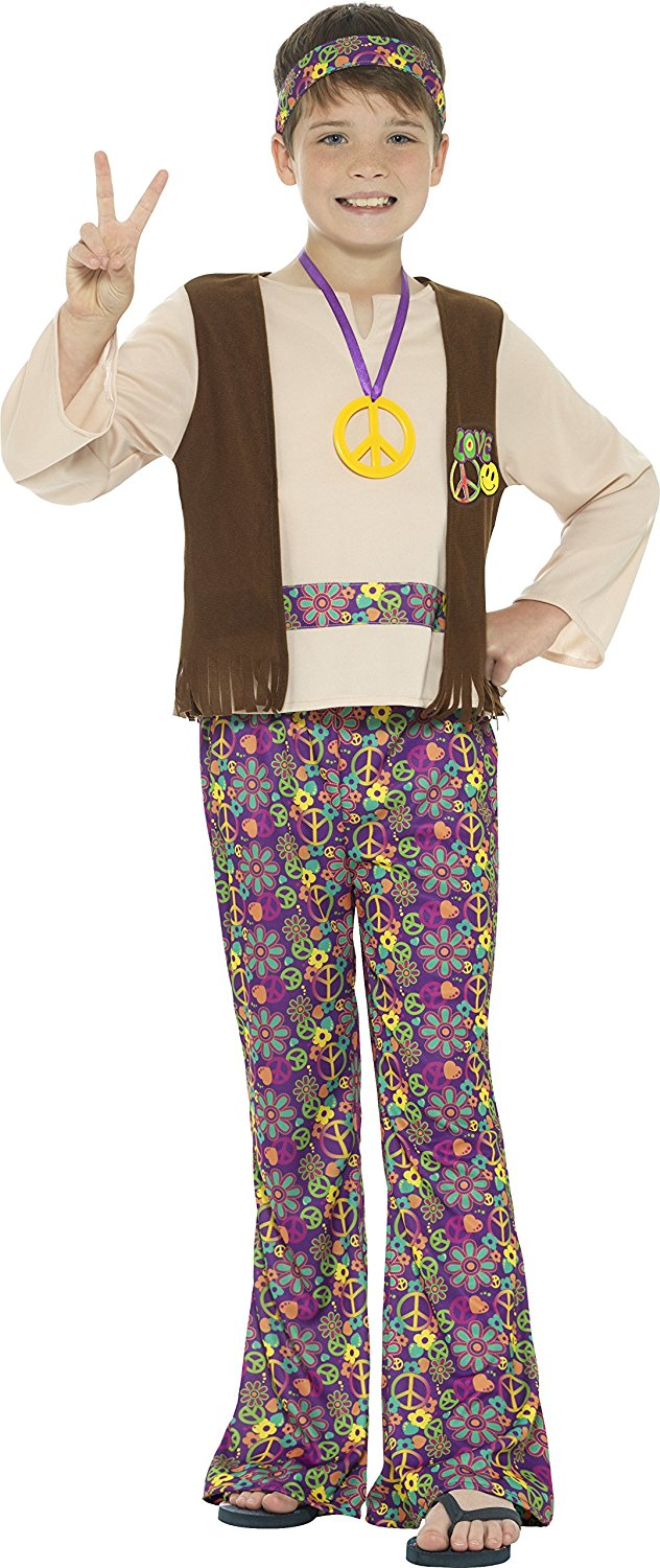 Boys hippie boy costume. Smiffys 41831