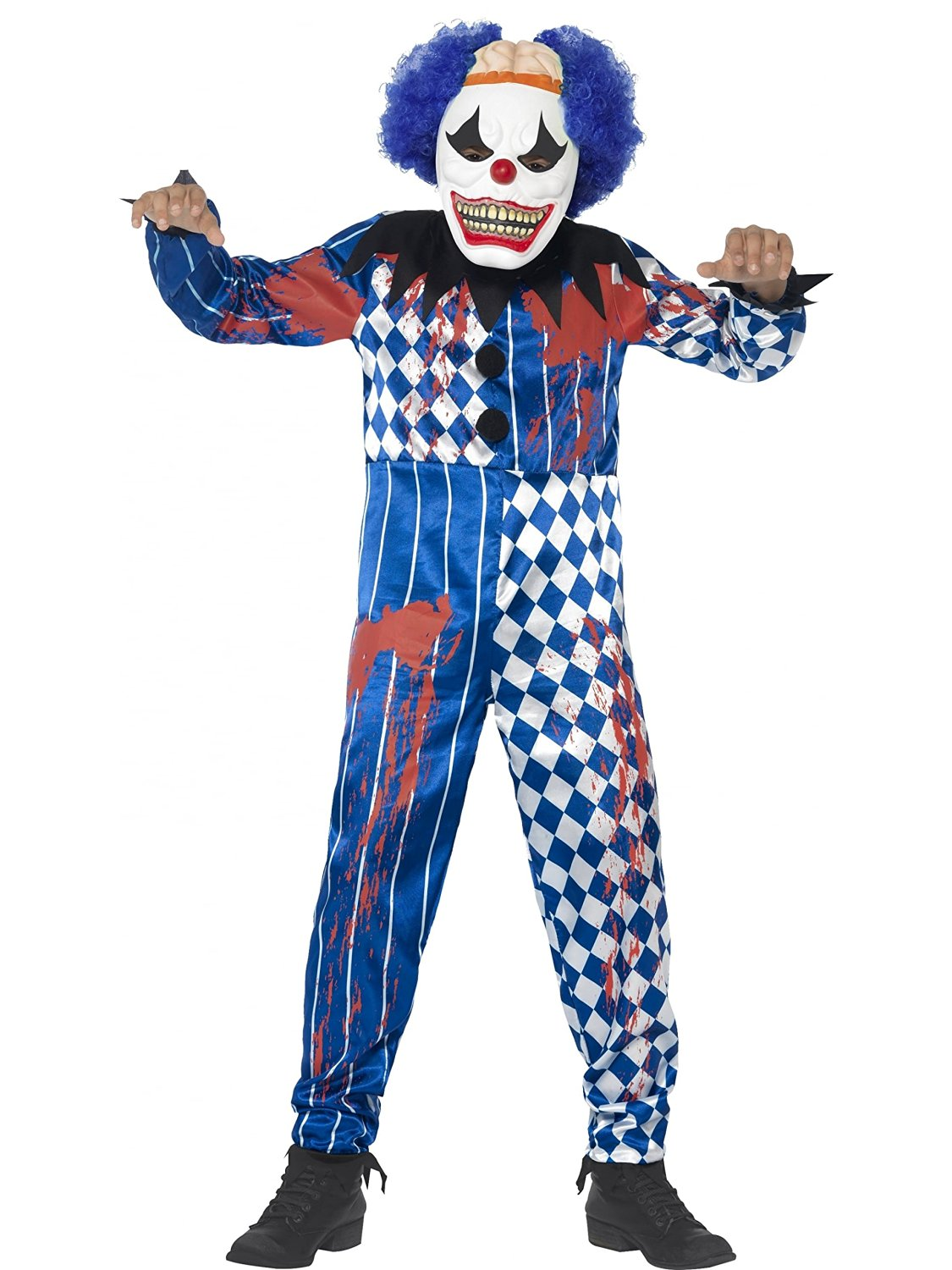 Sinister scary clown costume (smiffys 44327)