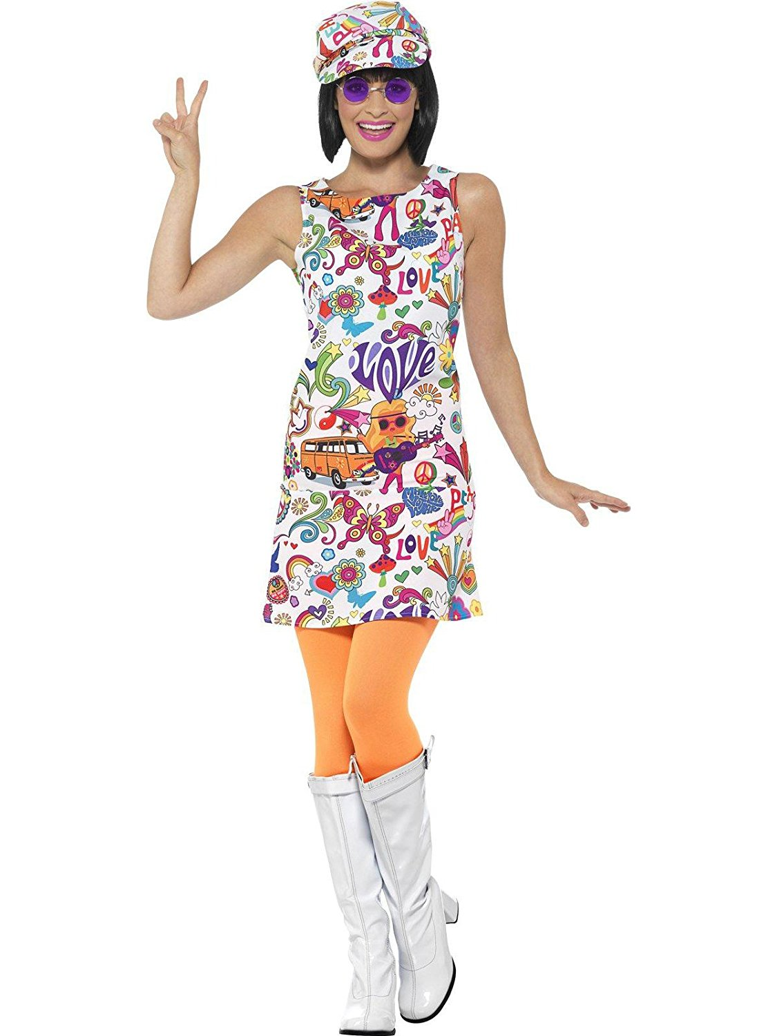 60's Groovy chick costume. Smiffys 44911