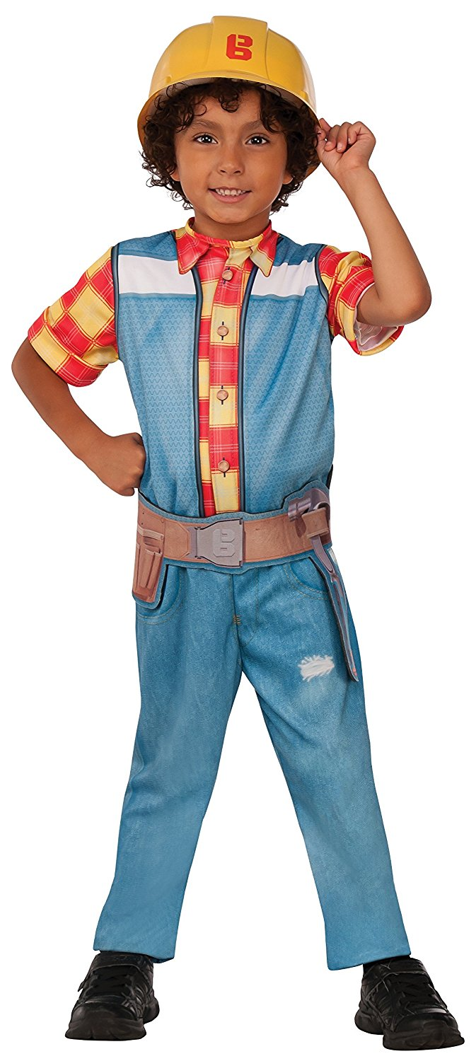 Bob the builder costume 620931. Small 3-4 years