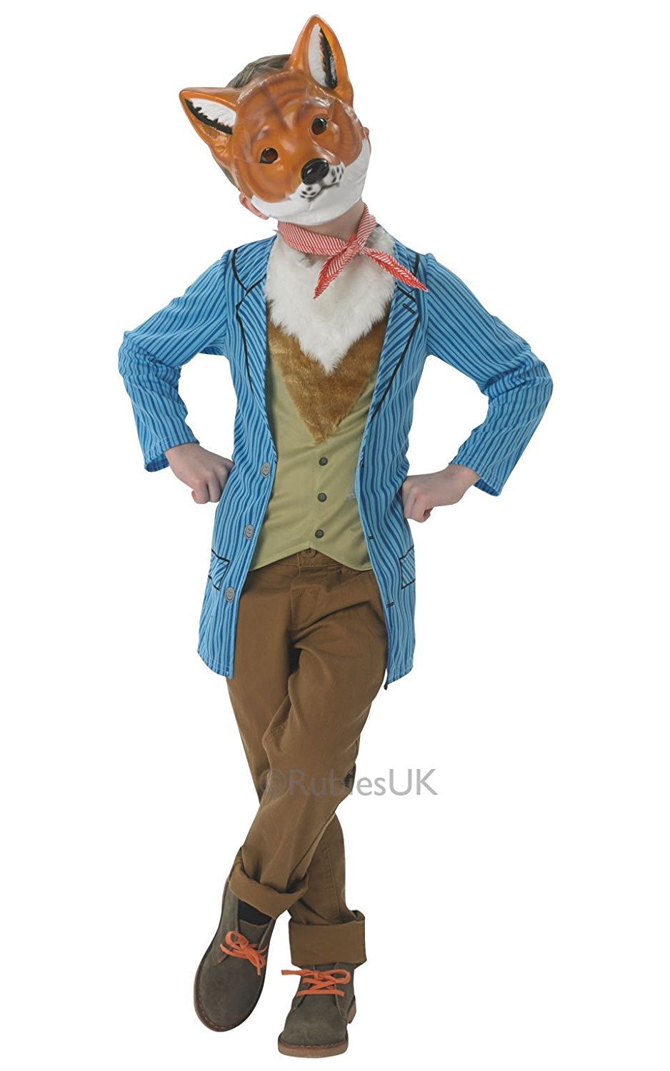 Mr. Fox costume child rubies 880340