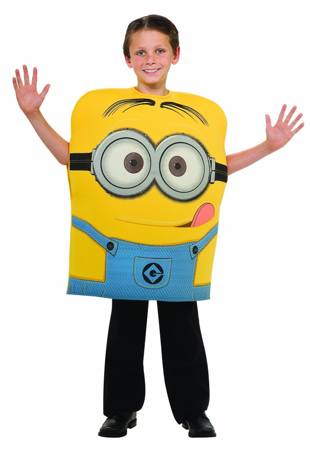 Child Despicable Me 2 Minion Dave costume 886444