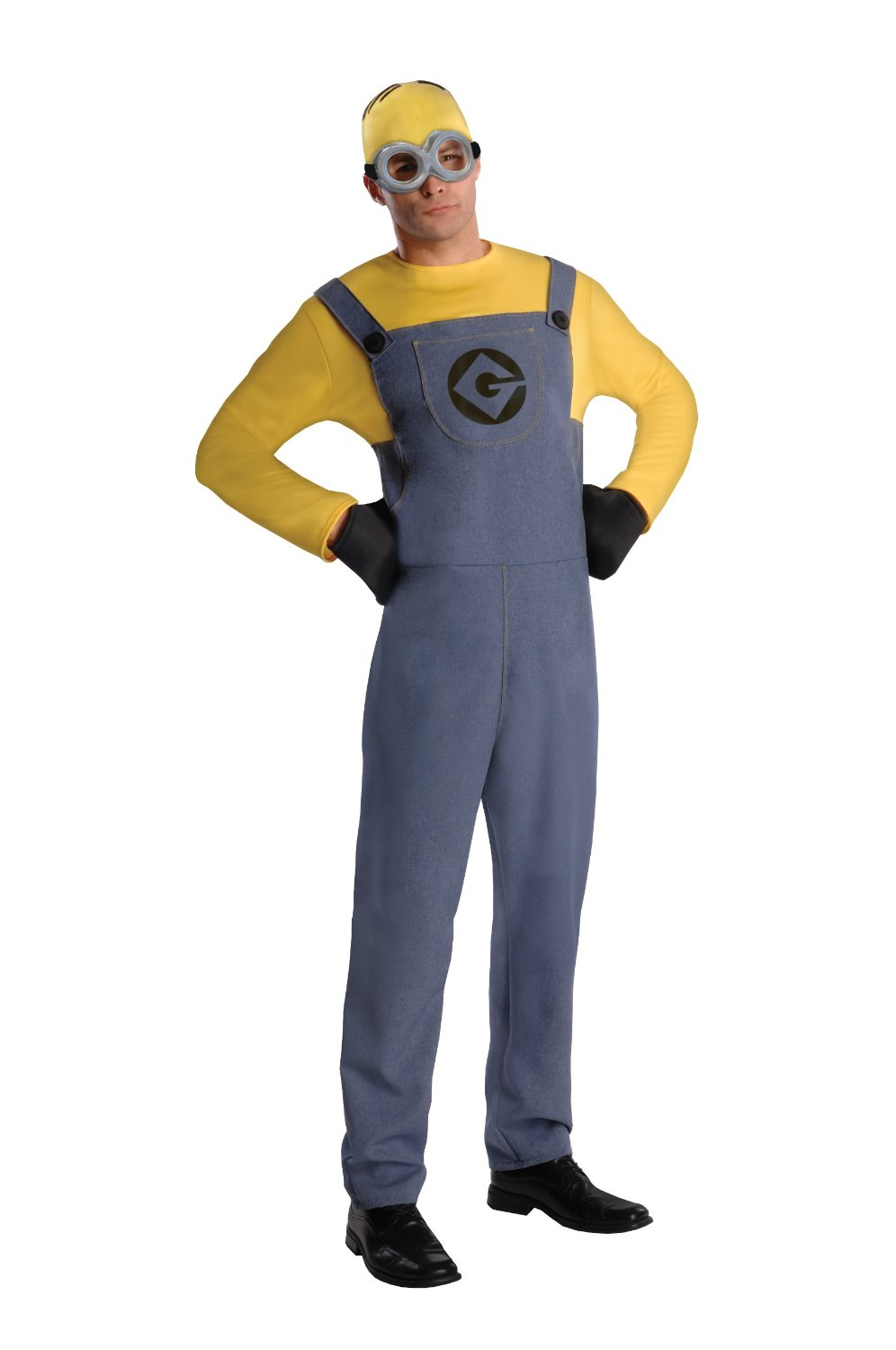 Disney Pixar Adult Minion Dave Costume 887201