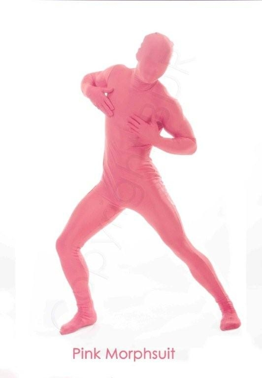 Pink Morphsuit Medium