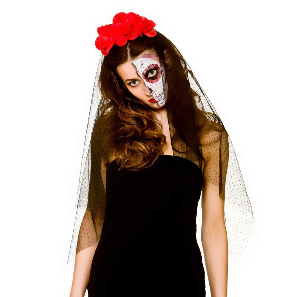 Day of the dead veil ac9246 Wicked