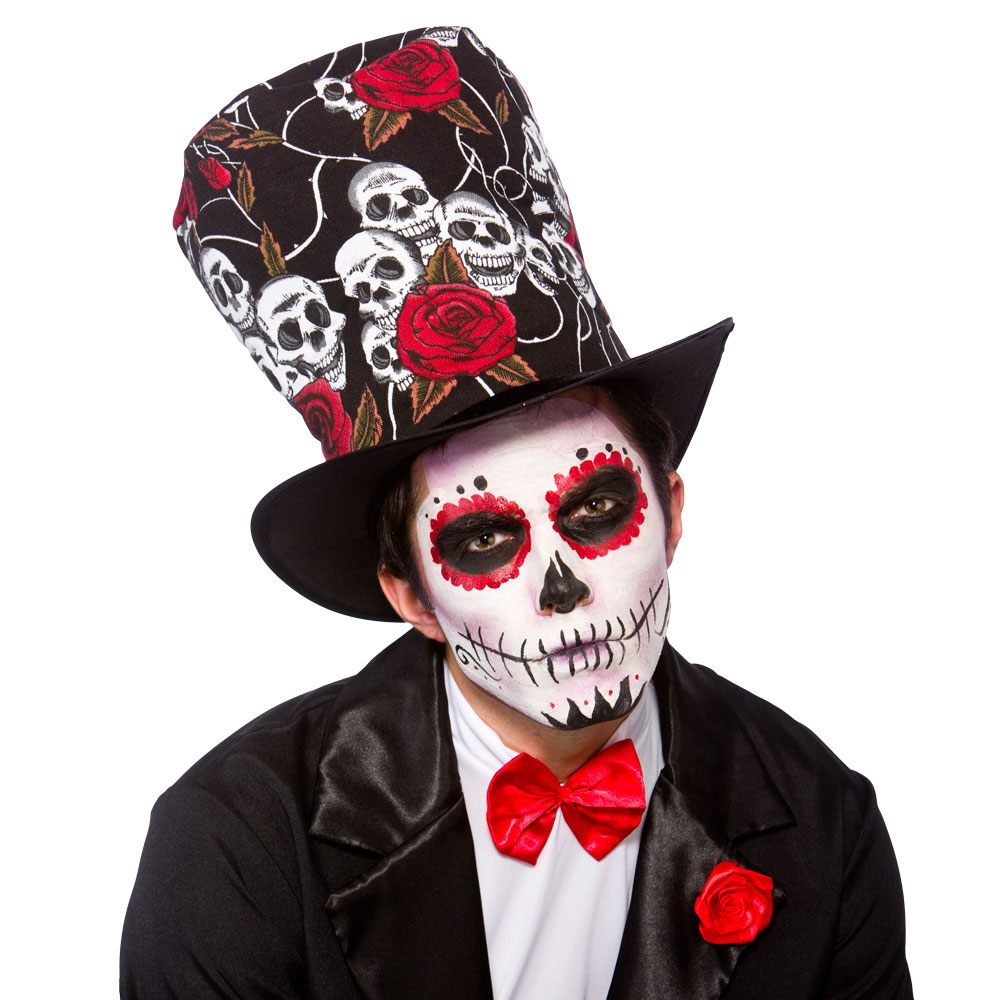Day of the Dead top hat ac9708