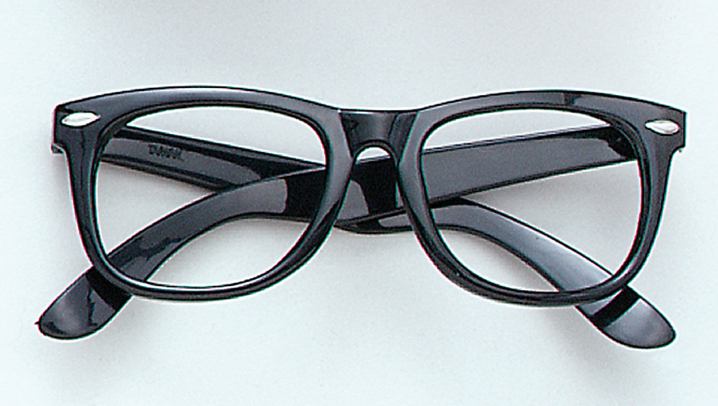 Black frame glasses BA182