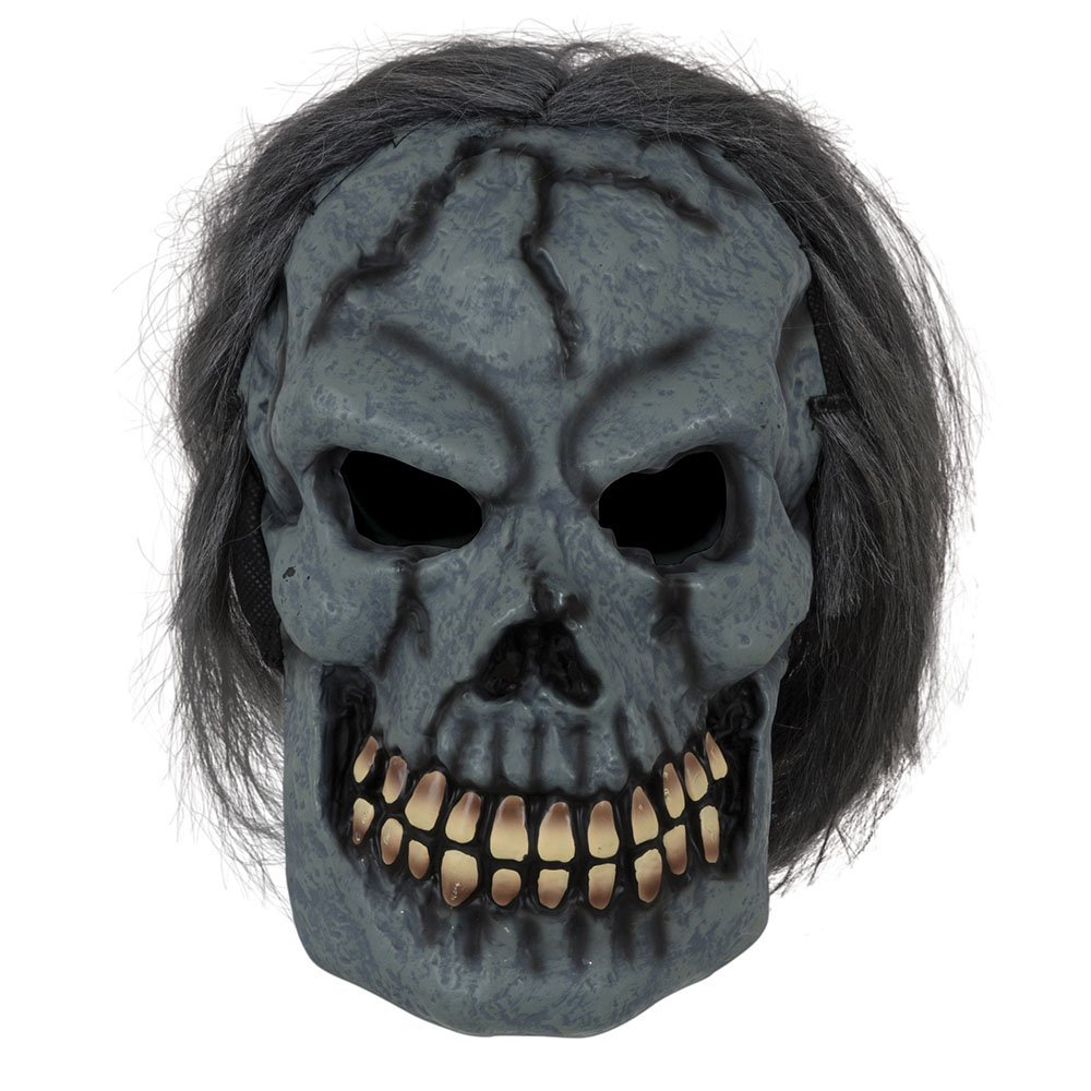 Skull mask with hair bm525