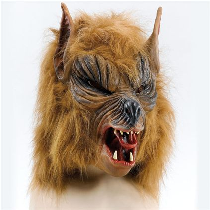 Brown Werewolf mask BM182