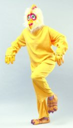 Fleece chicken costume budget AC307