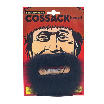 Black cossack beard MB067