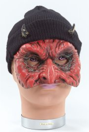 BM222 Devil mask with black hat