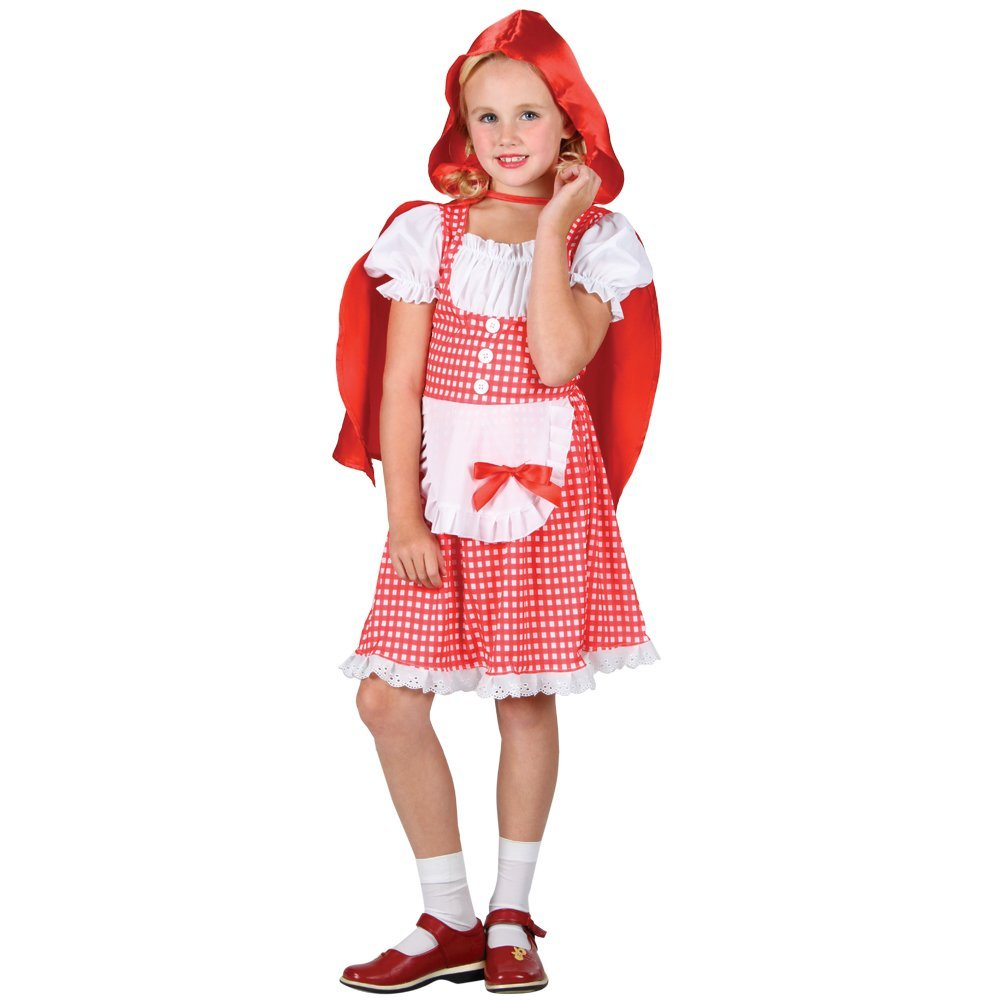 Red riding hood child costume (wicked eg3553)