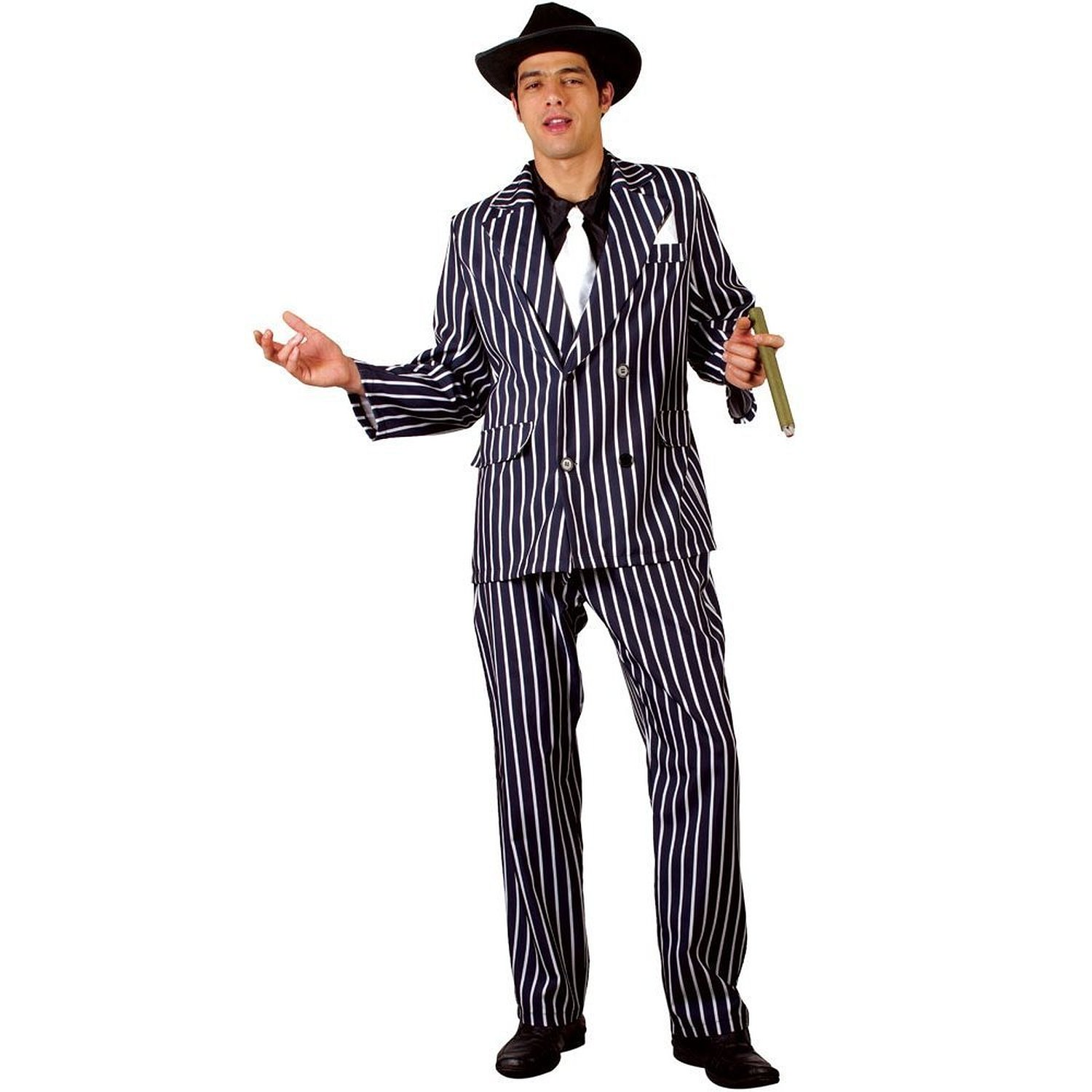 Adult gangster Godfather costume (wicked em3071)