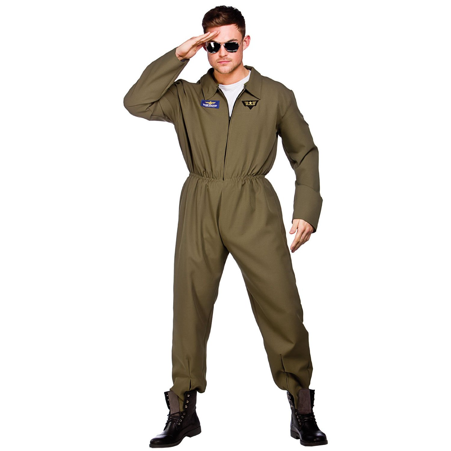 Male Top shot pilot costume em3187