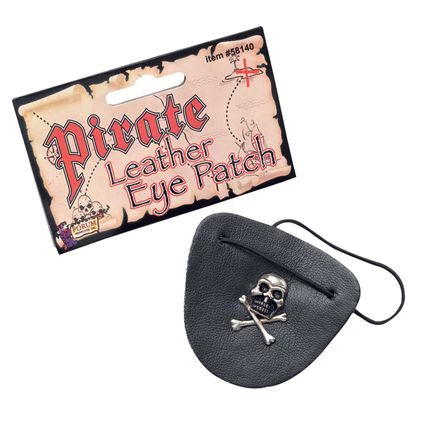 Leather Pirate eye patch MD141