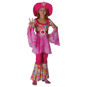 Flower power hippy kids eg3515(wicked) 11-13 years