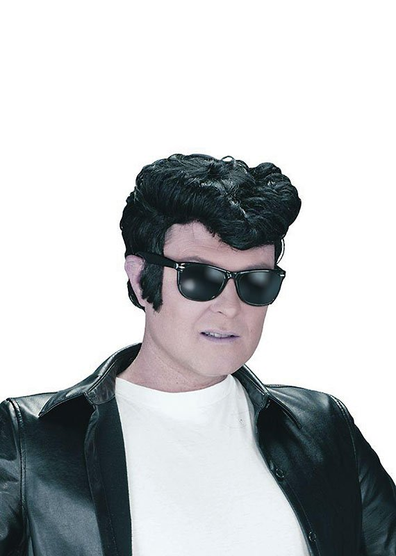 Greaser wig black BW686