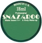 Emerald green snazaroo face paint 18ml