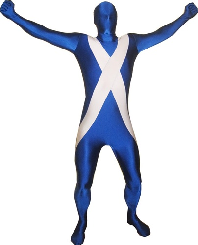 St.Andrews cross morphsuit