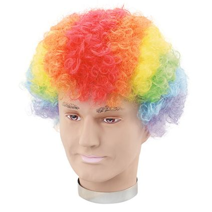 Rainbow pop wig BW113
