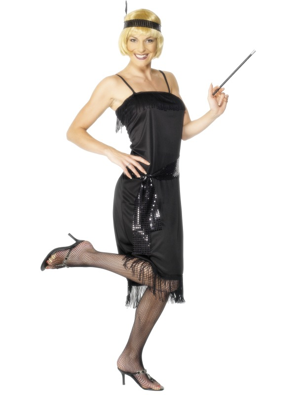 Flapper Costume adult ef-28605L (smiffys)