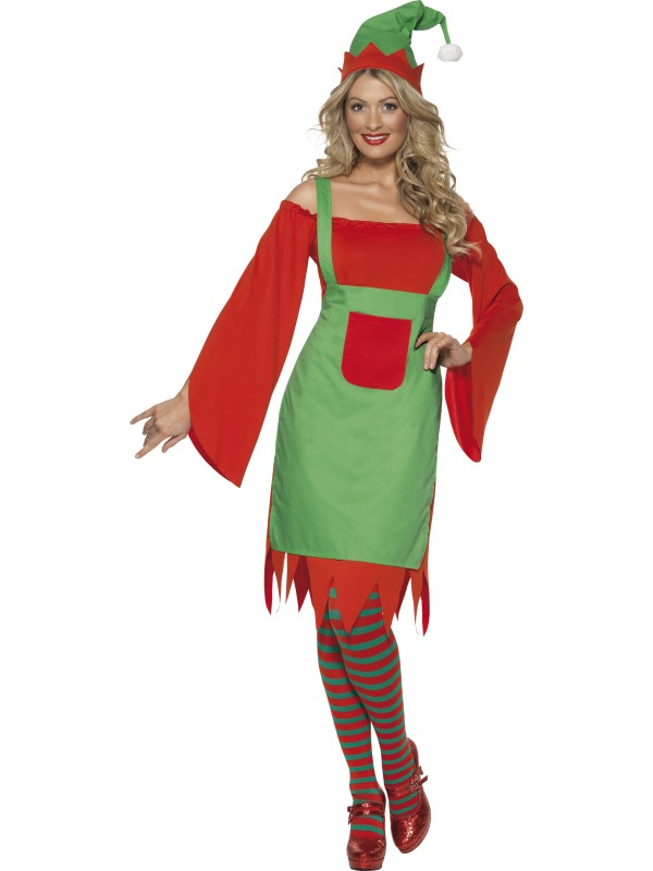 Cute Elf Costume ef-33149L (smiffys)