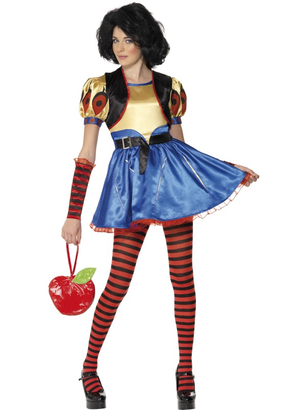 Teen Rebel Toons Snow White Costume ef-34195L