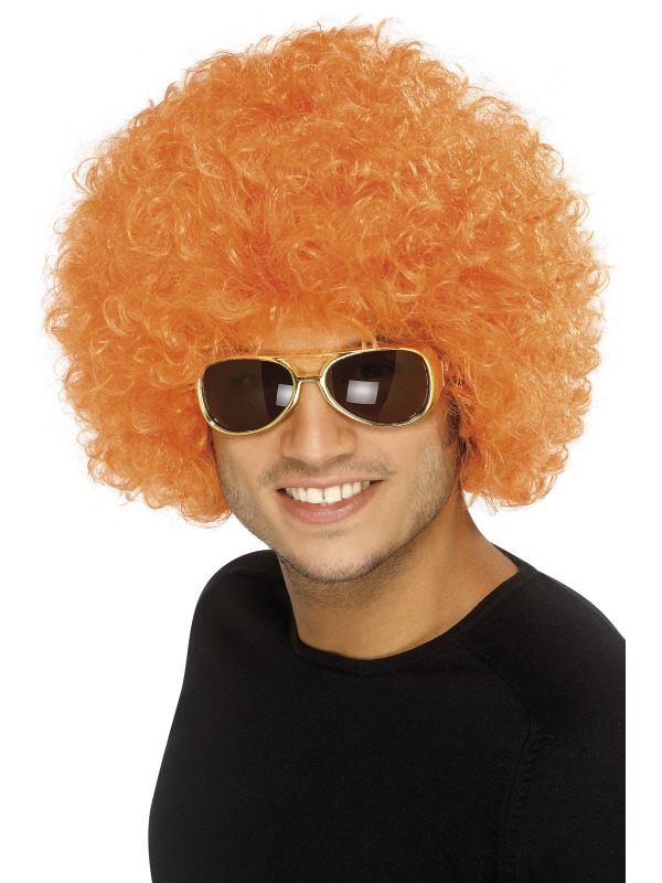 Clown Wig, Orange ef-34494