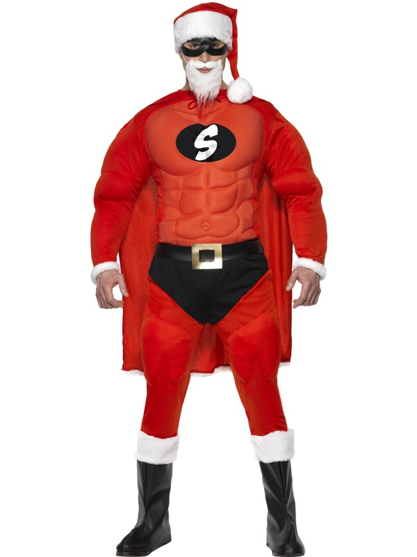 Super Fit Santa Costume ef-36214M (smiffys)