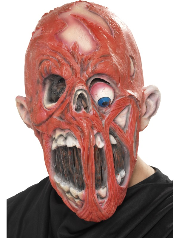 Horror Zombie Mask with Fleshless Face ef-38187 (s