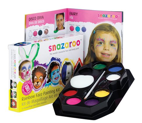Snazaroo rainbow kit MU094 (face paint box)