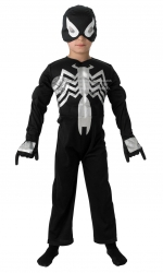 889206 Marvel Black deluxe Spiderman costume