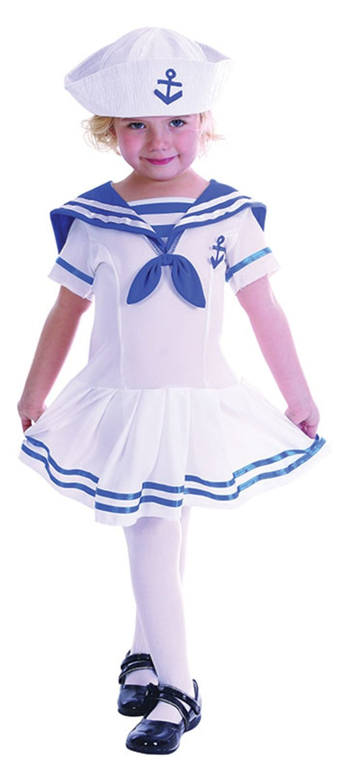 Toddler sailor girl  costume cc062
