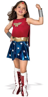 Wonderwoman kids  costume 882312