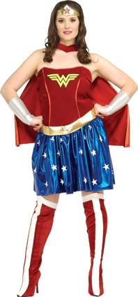 Wonder woman plus size adult 17440