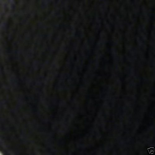 Robin CHUNKY Knitting Acrylic Yarn 044 BLACK Wool