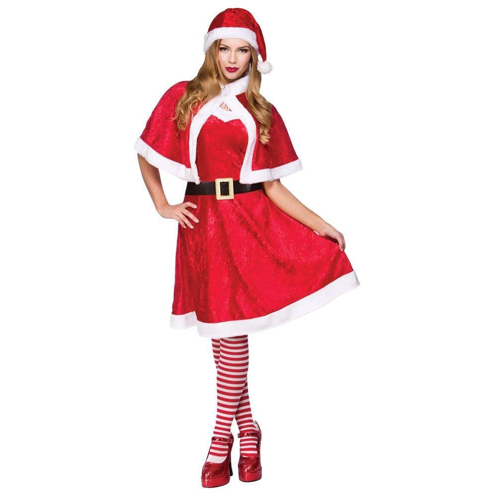 Miss santa adult costume. Wicked xm4527(0)