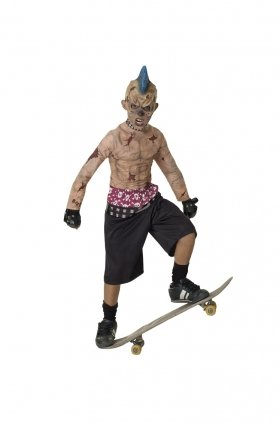 Zombie Skater Punk costume - 882834